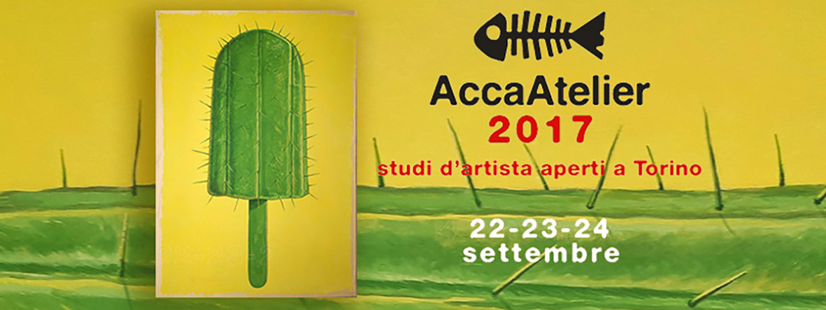AccaAtelier 2017 - studi d'artista aperti a Torino - 22-23-24/09/2017 © ACCA