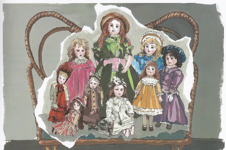 'Di bambole e di sogni', 2011, illustrazione di Maria A. Laterza De Federicis © l'artista/Alzani