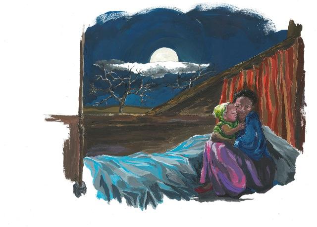 illustrazione di Maria A. Laterza De Federicis © l'artista/Miraggi