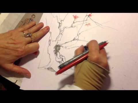 Video della preparazione de 'Il piccolo maratoneta', 2015, illustrazioni di Maria A. Laterza De Federicis © aut./Miraggi