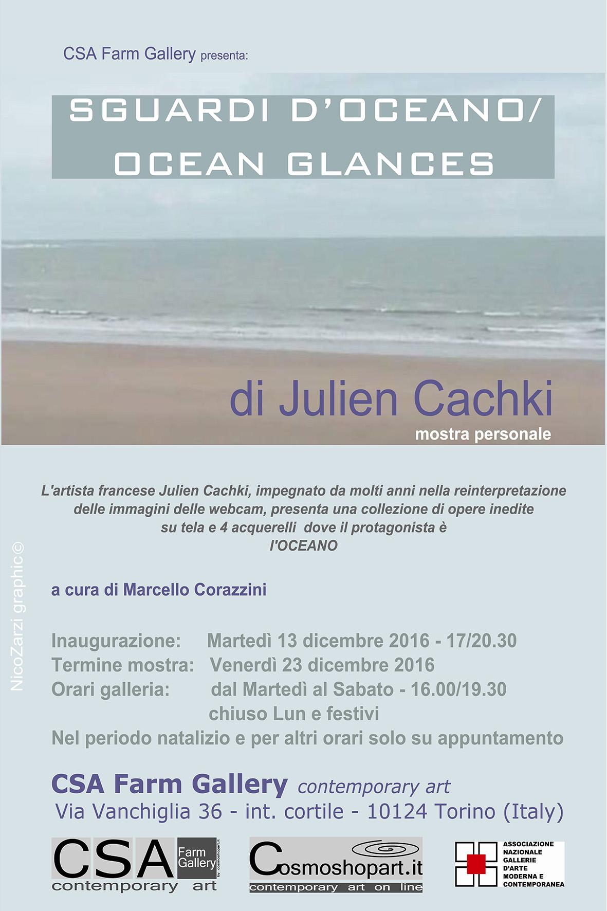 'Sguardi d'Oceano/Ocean Glances' di Julien Cachki, mostra personale, 13-23/12/2016 © J.Cachki/NicoZarzi/CSA
