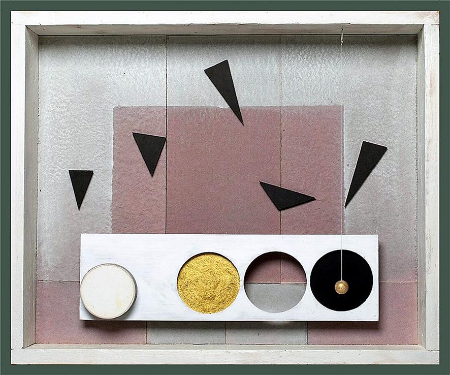 Gianni Baretta, 'Stanza 302', 2018, tecnica mista su scatola in legno, 51x61x9 cm., foto di R. Goffi © aut./CSA