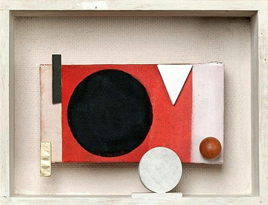 Gianni Baretta, 'Stanza 296', 2018, tecnica mista su scatola in legno, 17x23x3 cm., foto di R. Goffi © aut./CSA
