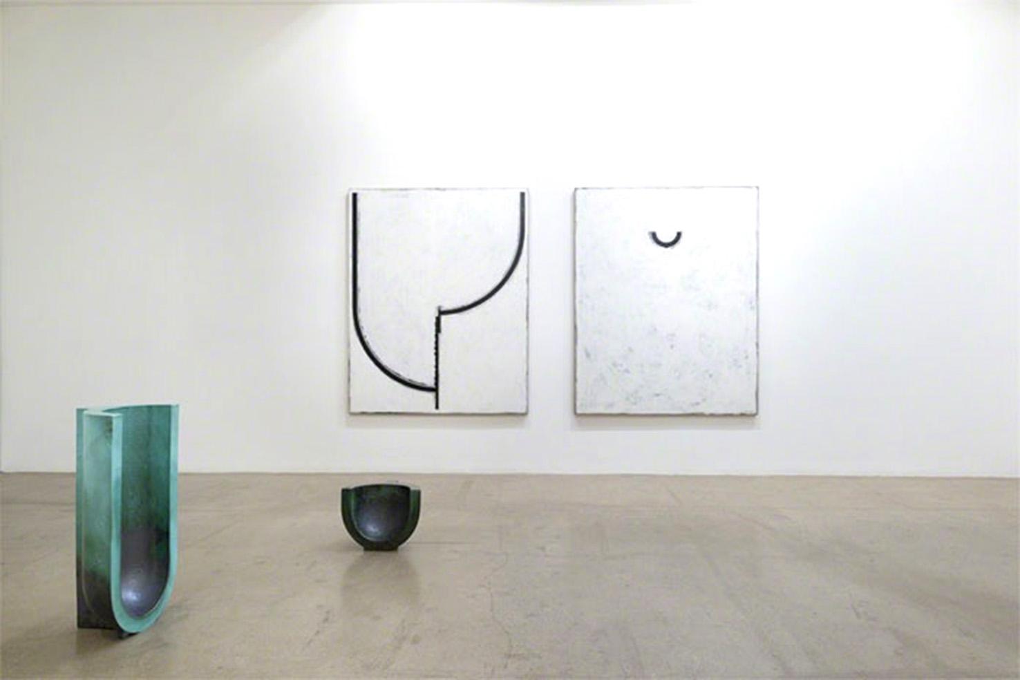 Veduta dell'esposizione personale di Davide Balliano presso la Luce Gallery di Torino, foto © aut./D.Balliano/LuceGallery