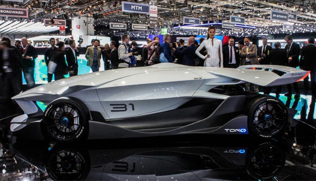 la ED 'Torq' al Salone dell'Auto di Ginevra 2015, foto © aut./ED/SIAG