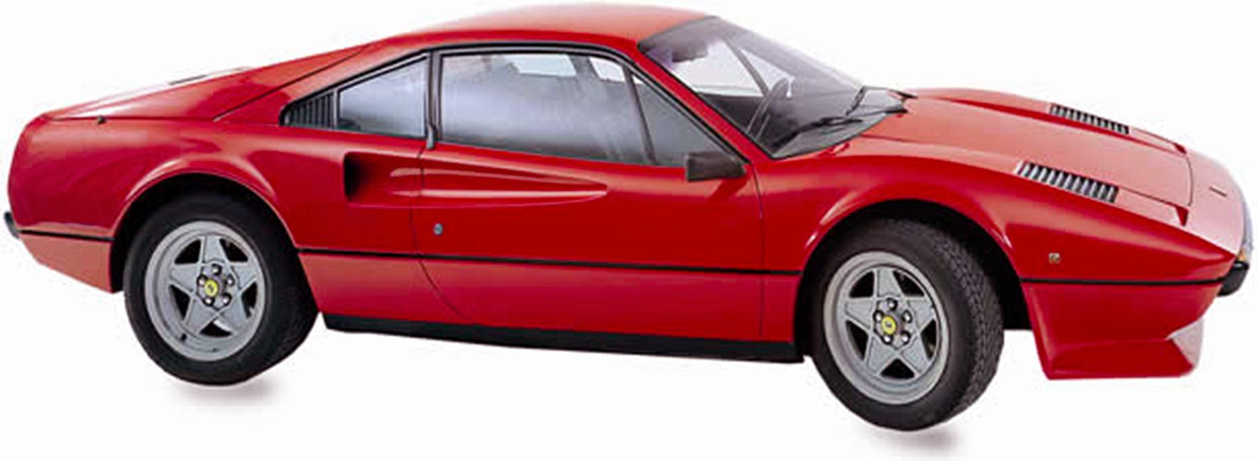 La Ferrari '308' GTB carburatori, 1980, disegnata da Leonardo Fioravanti, per Pininfarina, foto © aut./MAUTO