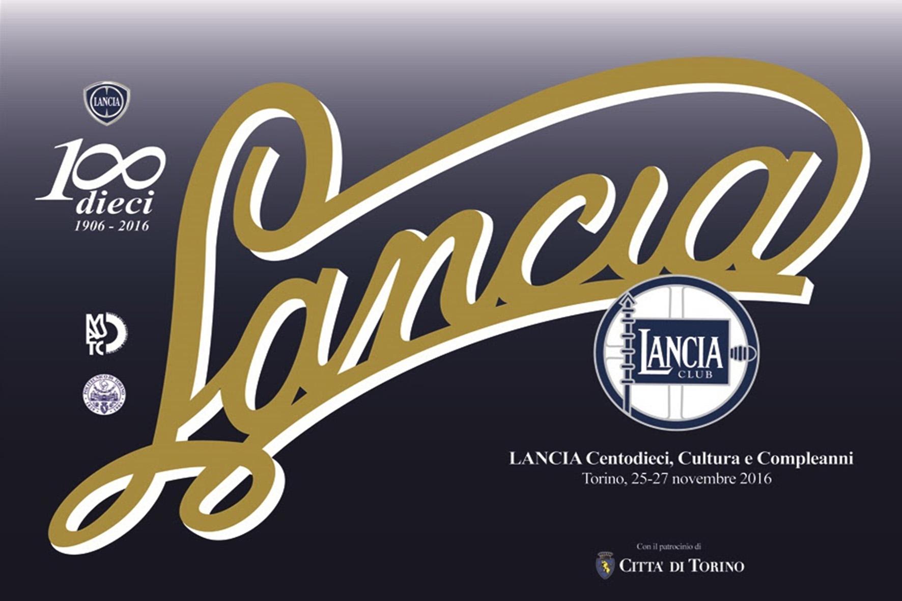 'LANCIA Centodieci, Cultura e Compleanni' © LanciaClub-FCA/MAUTO