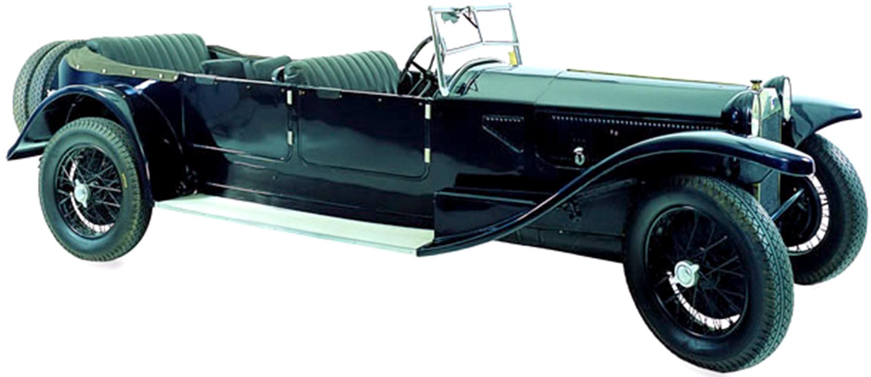 La Lancia 'Lambda' (IX serie) torpedo, 1930, foto © aut./MAUTO