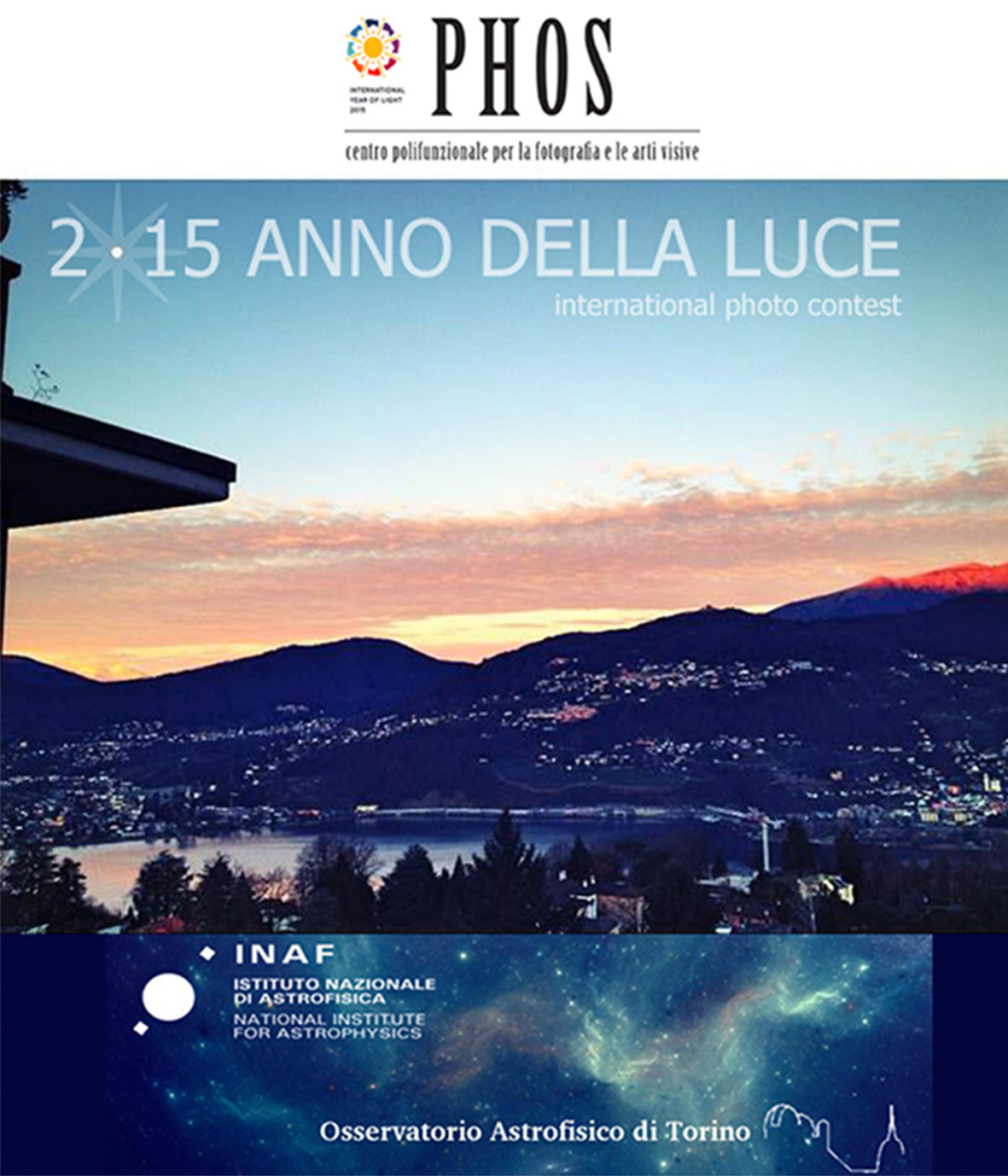'2015 Anno della Luce' International Photo Contest © PHOS/INAF-OATo/IYL
