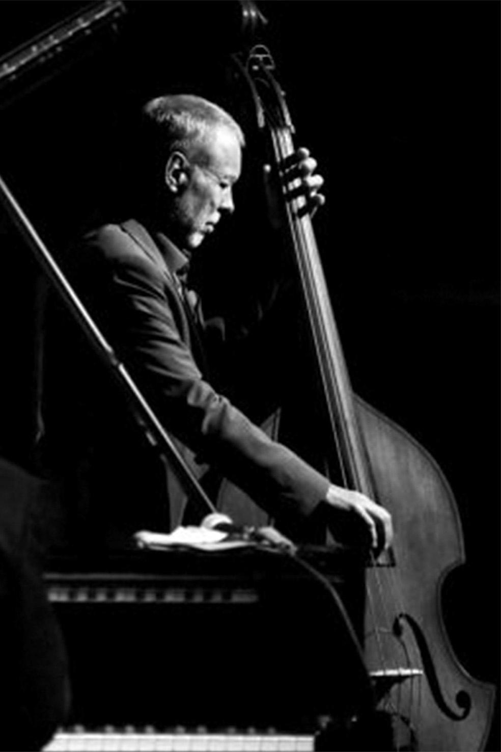 A. Palmucci, 'Black White', particolare dello scatto vincitore del premio Jazz World Photo 2015 a New York, foto b/n © aut./JWP/PHOS