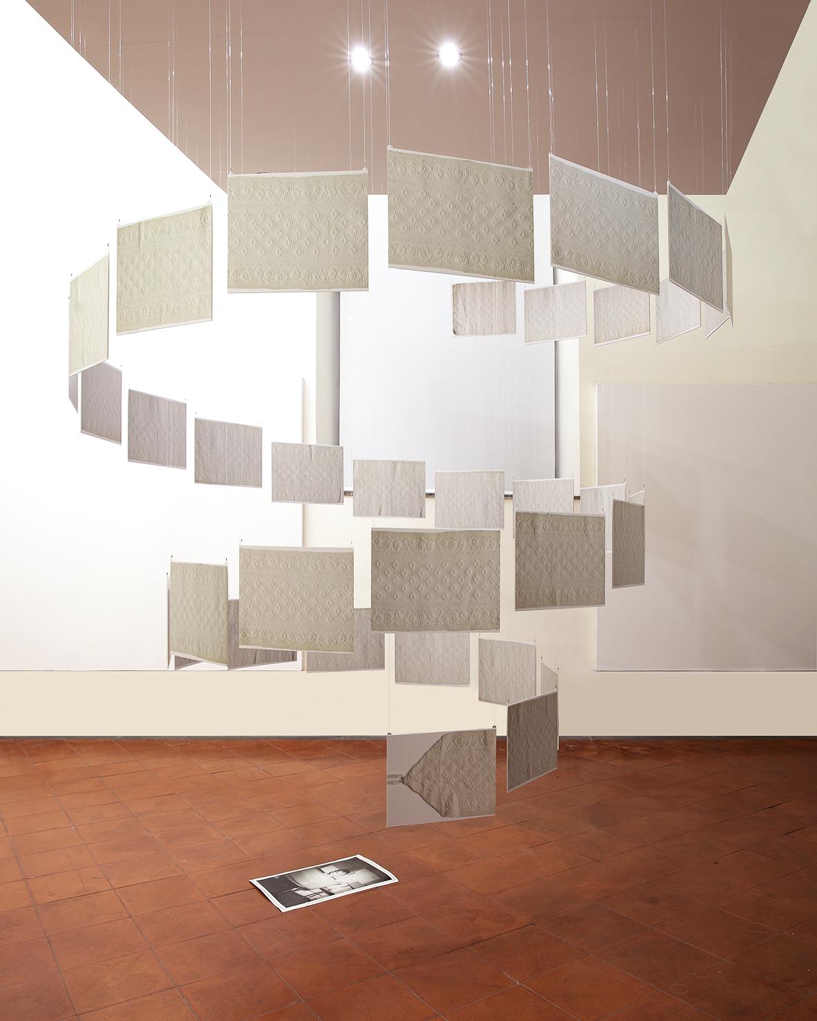 Paola Binante, 'Tatina', 2011-2013, installazione con stampe fotocolor, in mostra nel 2014 al Museo di Roma in Trastevere' © P.Binante/MdRiT/CSA