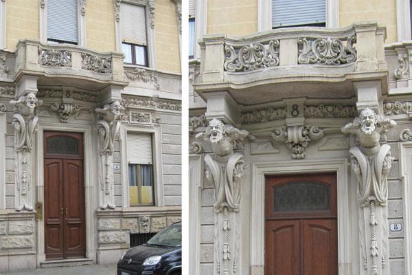 Civico20 news i fauni della palazzina marzoni corsini a for Bovindo francese