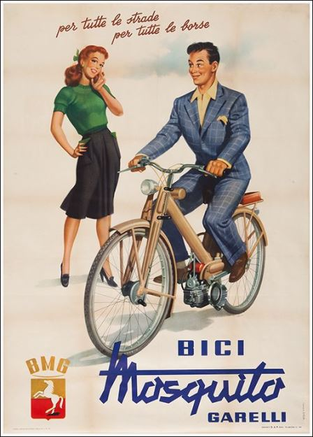 Bicicletta A Motore Garelli