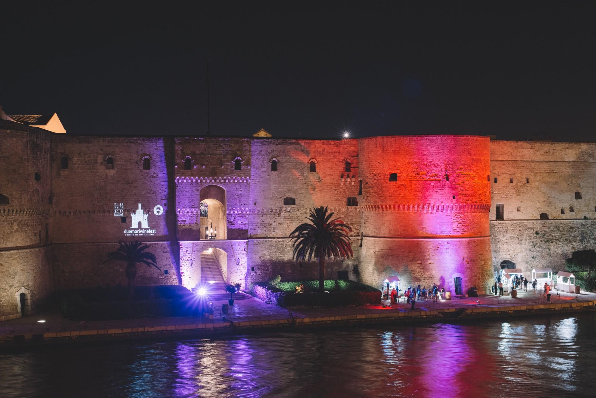 Nuovo Arredo A Taranto.Civico20 News Taranto Concluso Un Due Mari Winefest Da Sogno