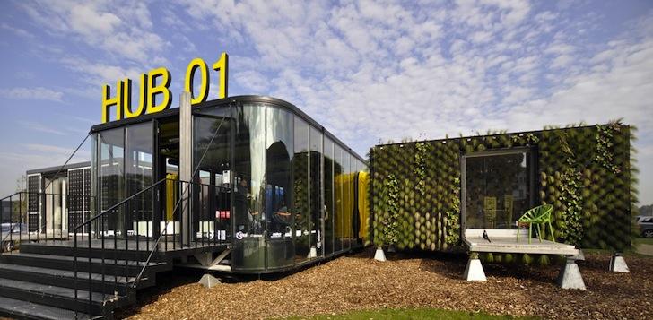 Civico20 news eco architettura in belgio una residenza for Eco architettura