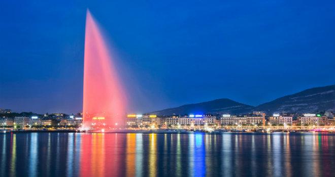 Civico20 News | Ginevra (Svizzera), Il getto d'acqua