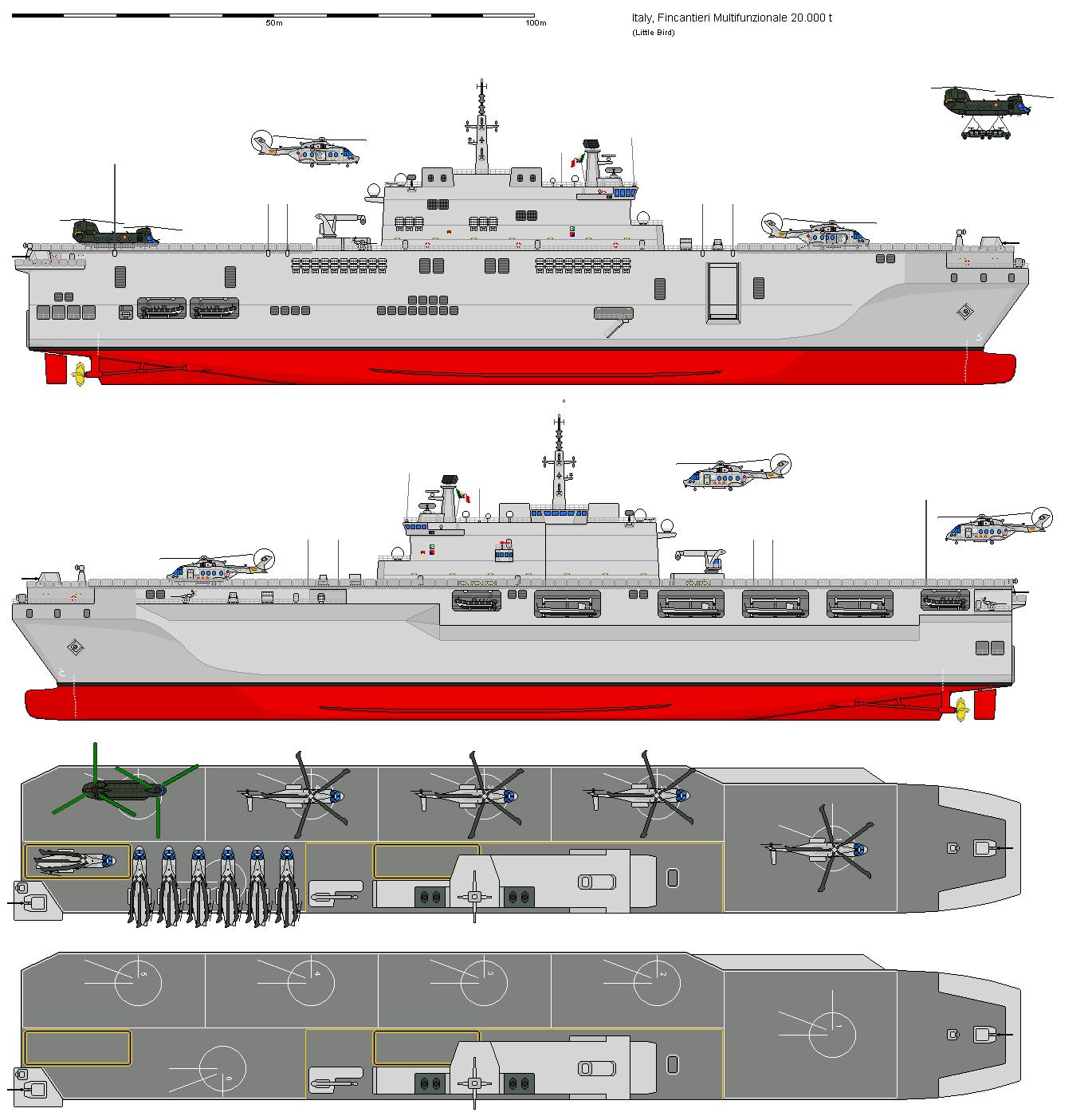 Civico20 news la nuova portaelicotteri d assalto della - Nuova portaerei ...