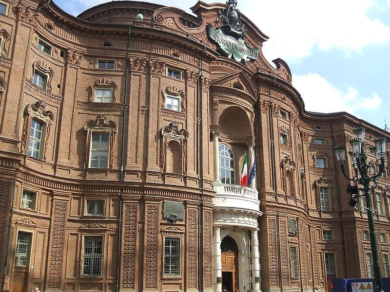 Civico20 news palazzo carignano a torino un gioiello for Sito della camera dei deputati
