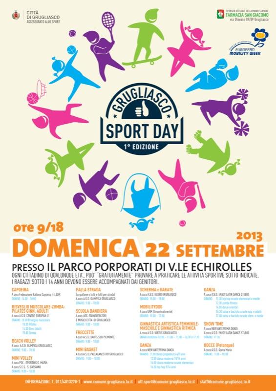 Civico20 News | Sport Day e Biciclando il 20 settembre a