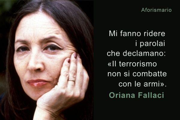 Civico20 News Quella Pazza Di Oriana Fallaci Il Nemico