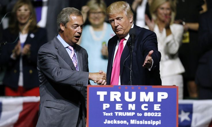 Farage e Trump