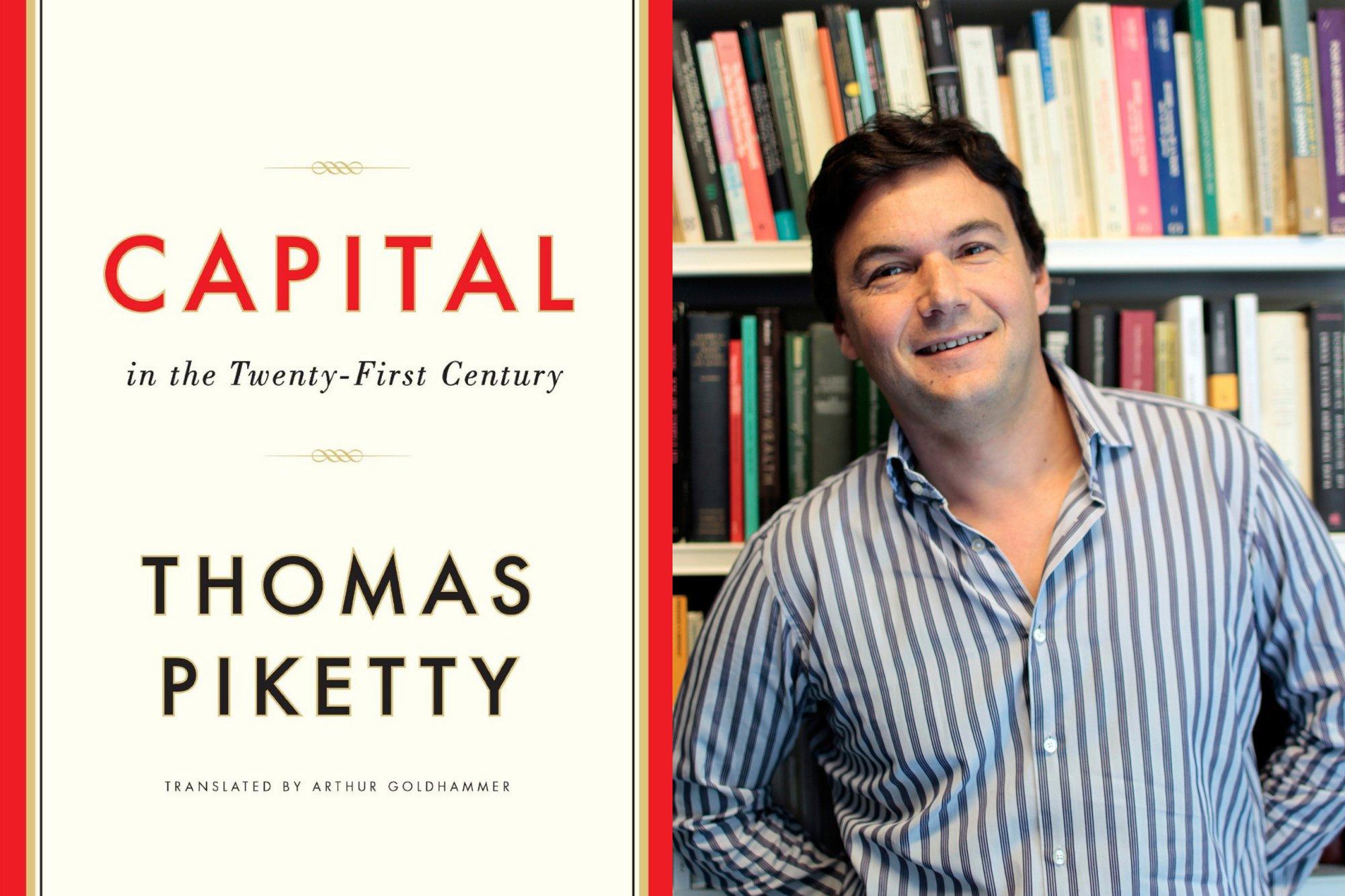 Risultati immagini per Thomas Piketty