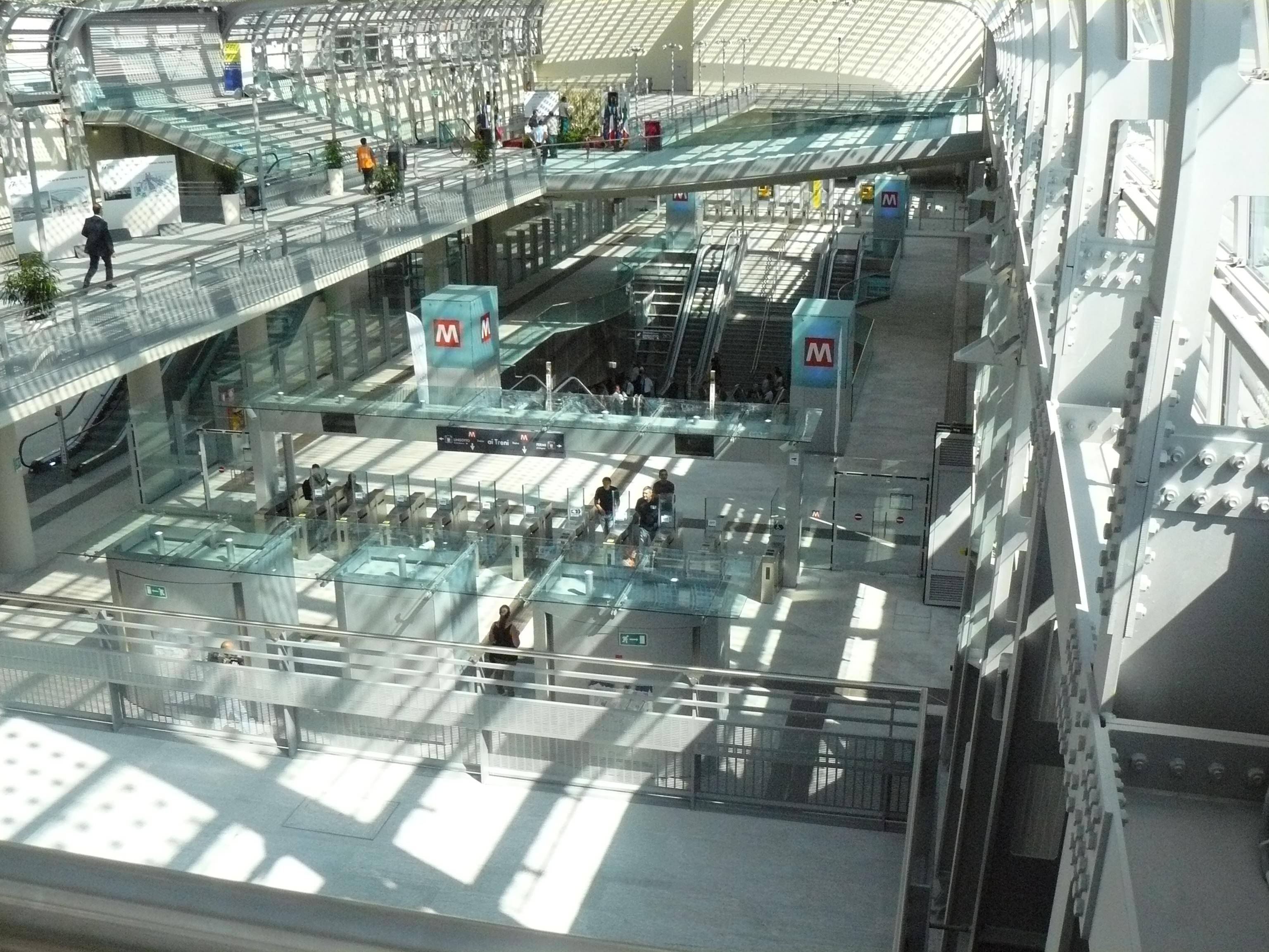 Civico20 news torino inaugurata la nuova stazione - Torino porta susa porta nuova ...